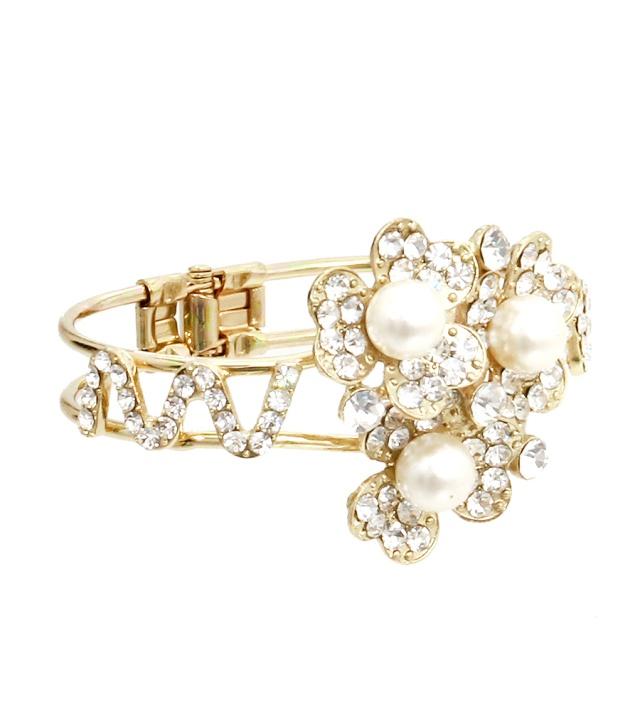 Pearl Flower Bracelet