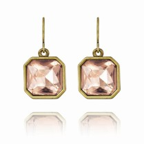 Retro Glam Square Cut Earrings