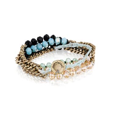 Bead+Multi Wrap Bracelet Trevi