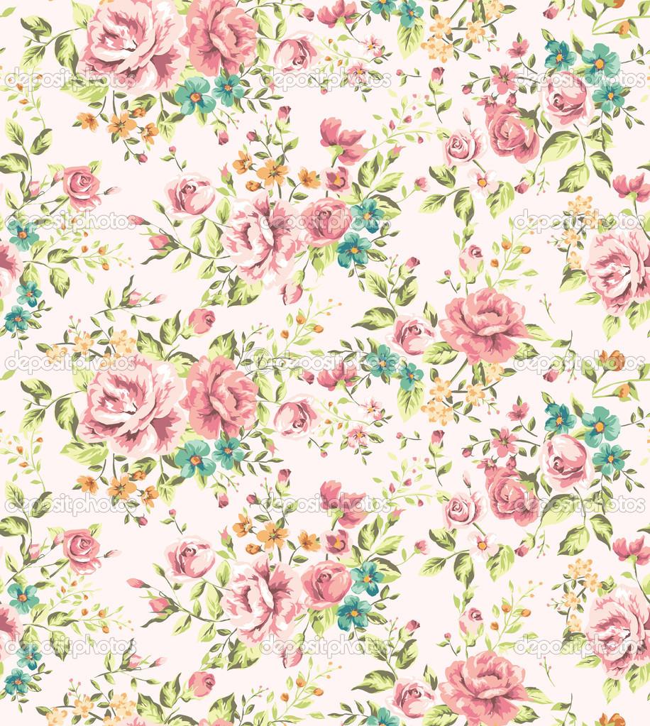 Vintage Flower Wallpaper Images